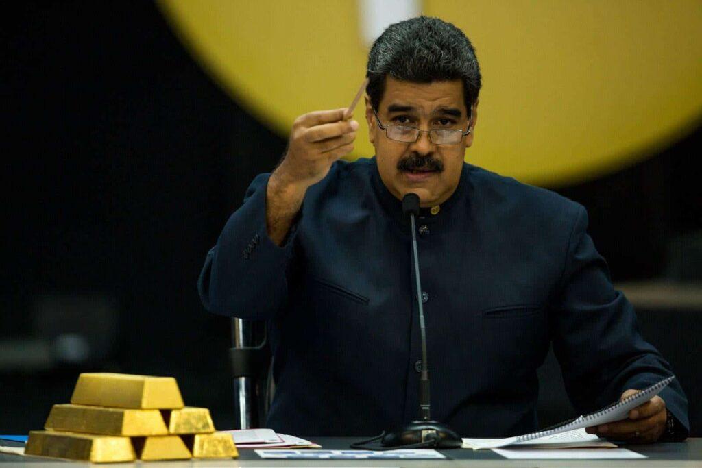 """Maduro denunció que """"se están robando"""" las reservas de oro depositadas en Inglaterra - julio 22, 2021 9:37 am - NOTIGUARO - Nacionales"""