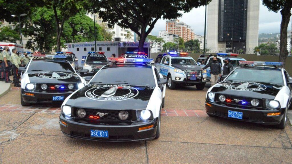 Así lucen las nuevas patrullas Mustang de la Policía de Chacao - julio 11, 2021 1:20 pm - NOTIGUARO - Nacionales