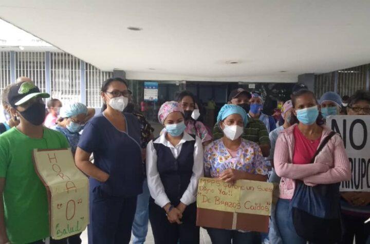Continúan los reclamos: Gremio médico convoca a la gran toma del Ministerio de Salud este #7Jul - julio 7, 2021 10:00 am - NOTIGUARO - Protestas