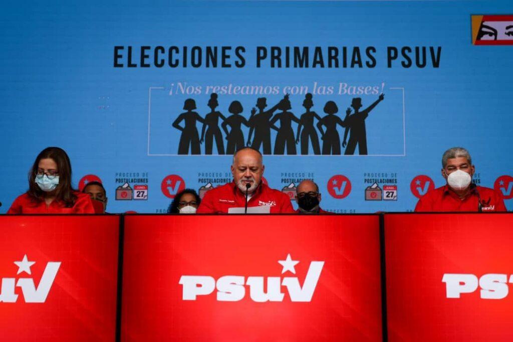 PSUV anuncia su lista de postulados para primarias del #8Ago - julio 2, 2021 9:08 pm - NOTIGUARO - Nacionales