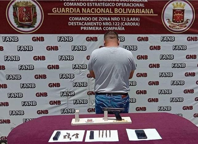 En Lara: Arrestan a Funcionario del CICPC por presunto tráfico de drogas - agosto 9, 2021 6:13 pm - NOTIGUARO - Locales