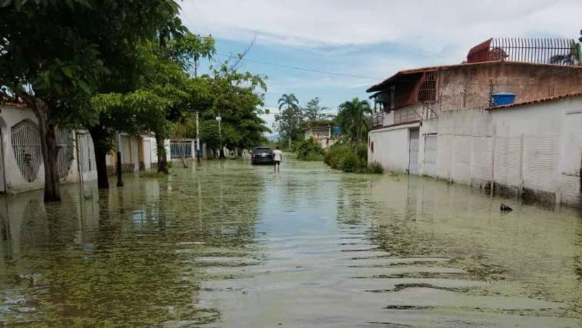 En Aragua: Lluvias ocasionaron desbordamiento del río La Trilla - agosto 30, 2021 11:01 am - NOTIGUARO - Nacionales