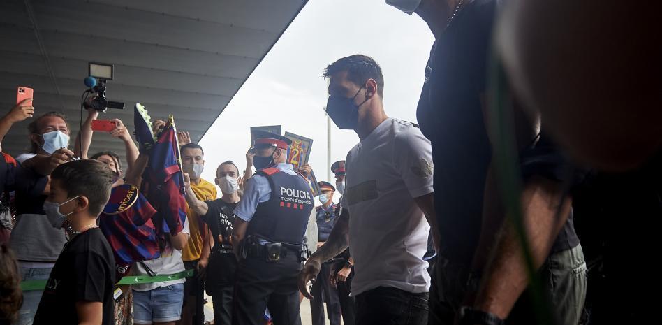 Para firmar con el PSG Messi vuela a París - agosto 10, 2021 2:00 pm - NOTIGUARO - Deporte