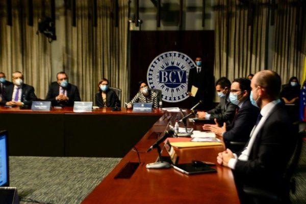 Banca pública y privada se reúnen con el BCV - agosto 5, 2021 7:27 pm - NOTIGUARO - BCV