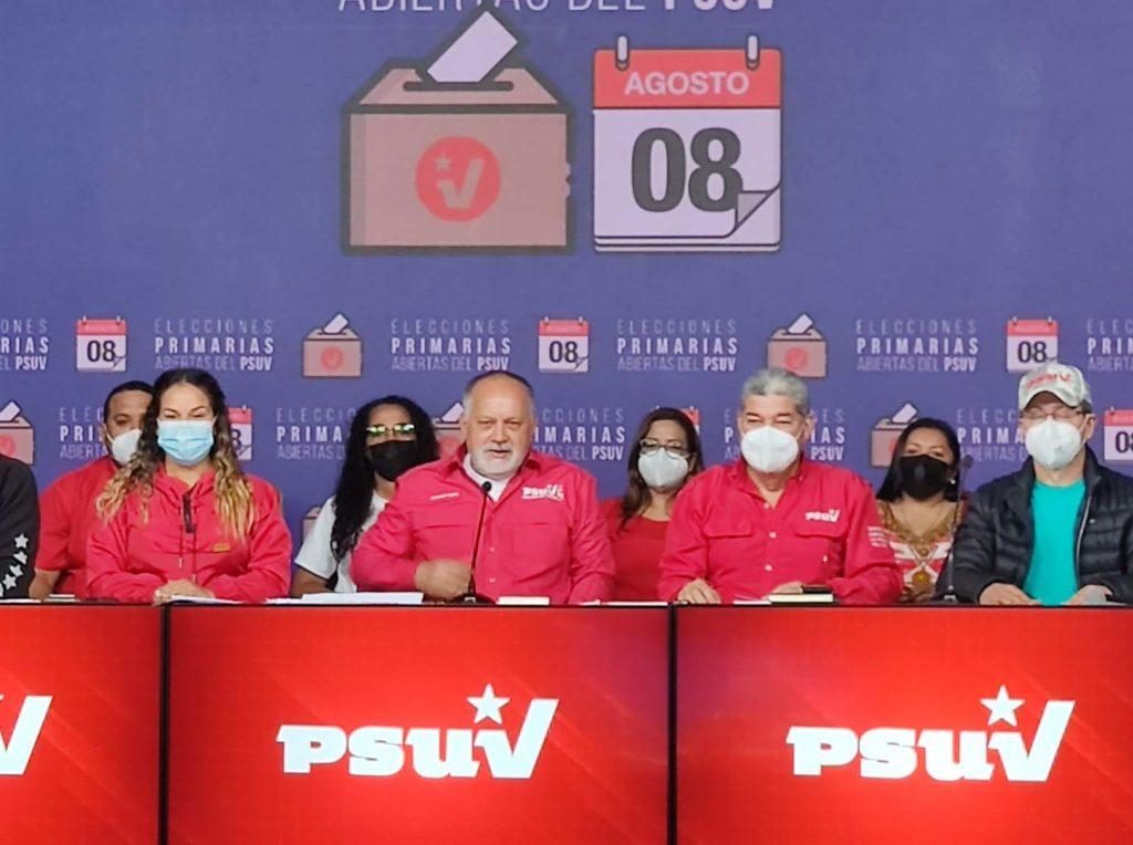 PSUV emitió segundo boletín y buscará consolidar candidaturas unitarias para el 21N - agosto 10, 2021 12:52 am - NOTIGUARO - Nacionales