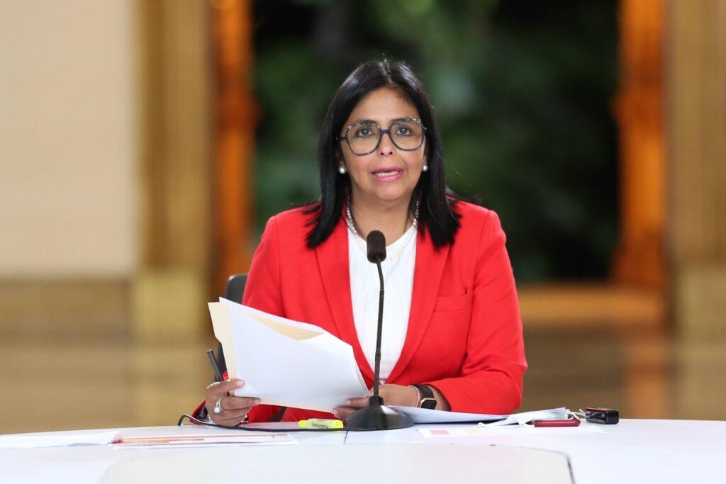 Delcy Rodríguez anunció expansión en la vacunación contra el COVID-19 - agosto 22, 2021 9:18 am - NOTIGUARO - Nacionales