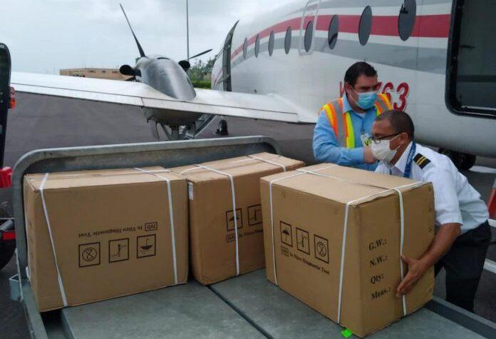 Venezuela envió 5.000 pruebas de covid-19 a Dominica - agosto 22, 2021 9:24 am - NOTIGUARO - Coronavirus