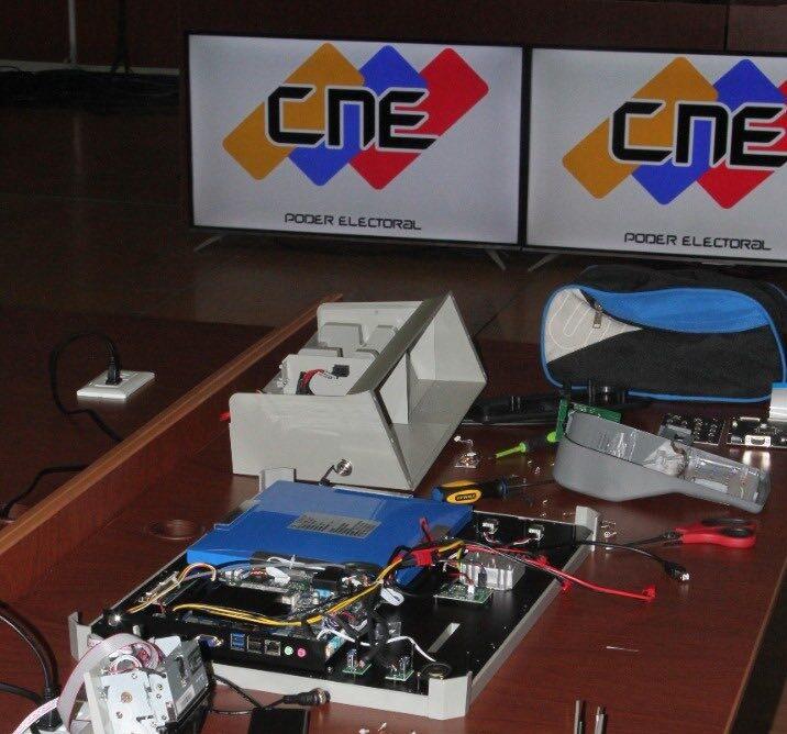 CNE inició auditoría del software en máquinas de votación para elecciones regionales - agosto 30, 2021 8:45 pm - NOTIGUARO - Nacionales
