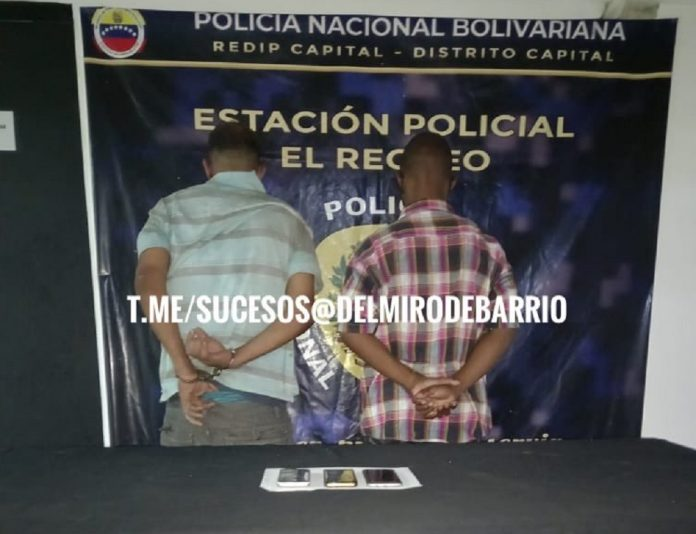 Caracas: Detienen a hombres que dejaban inconscientes a sus víctimas para robarlas - agosto 11, 2021 10:00 am - NOTIGUARO - Nacionales