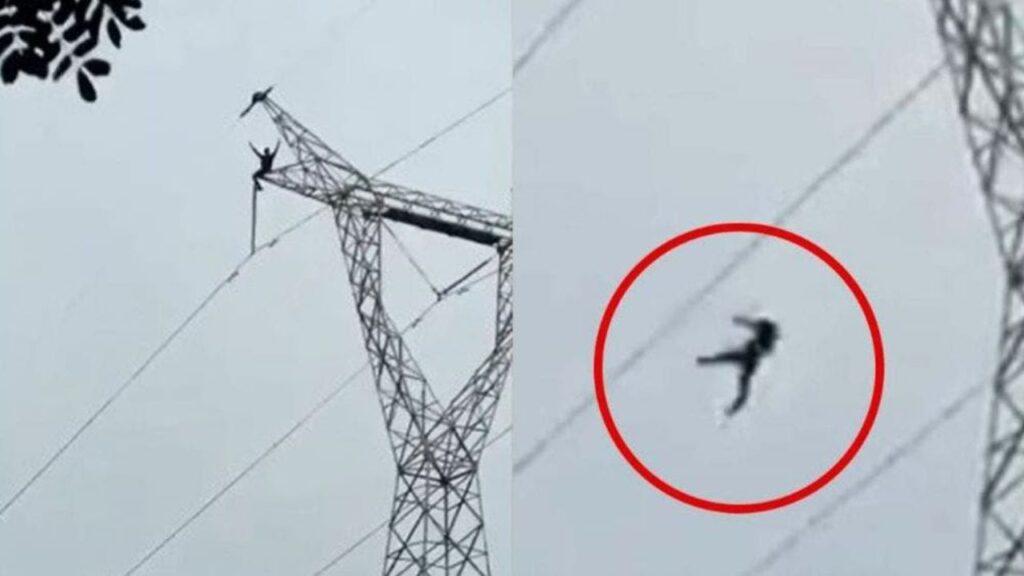 En Charallave: 2 Jóvenes que se cayeron de Torre eléctrica se encuentran estables - agosto 21, 2021 5:03 pm - NOTIGUARO - Nacionales