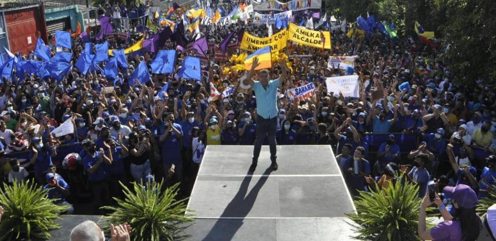 En Lara: Alianza Democrática respalda la candidatura de Henri Falcón - agosto 6, 2021 6:03 pm - NOTIGUARO - Locales