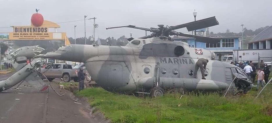 México: Helicóptero donde viajaba el secretario de Gobierno de Veracruz se desplomó - agosto 25, 2021 5:46 pm - NOTIGUARO - Internacionales