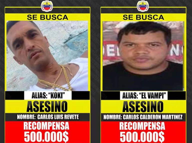 Detectan al Koki y al Vampi en Cúcuta - agosto 3, 2021 2:59 pm - NOTIGUARO - Nacionales