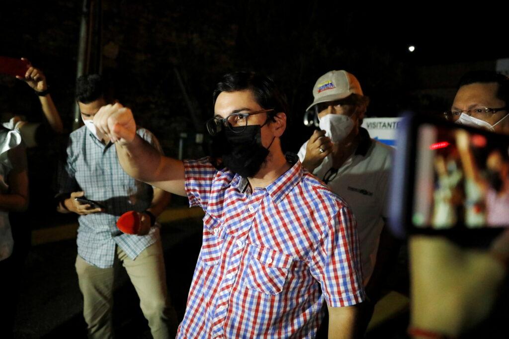 """Liberan a Freddy Guevara, quien se encontraba preso en El Helicoide por """"delito de terrorismo"""" - agosto 16, 2021 7:19 am - NOTIGUARO - Nacionales"""