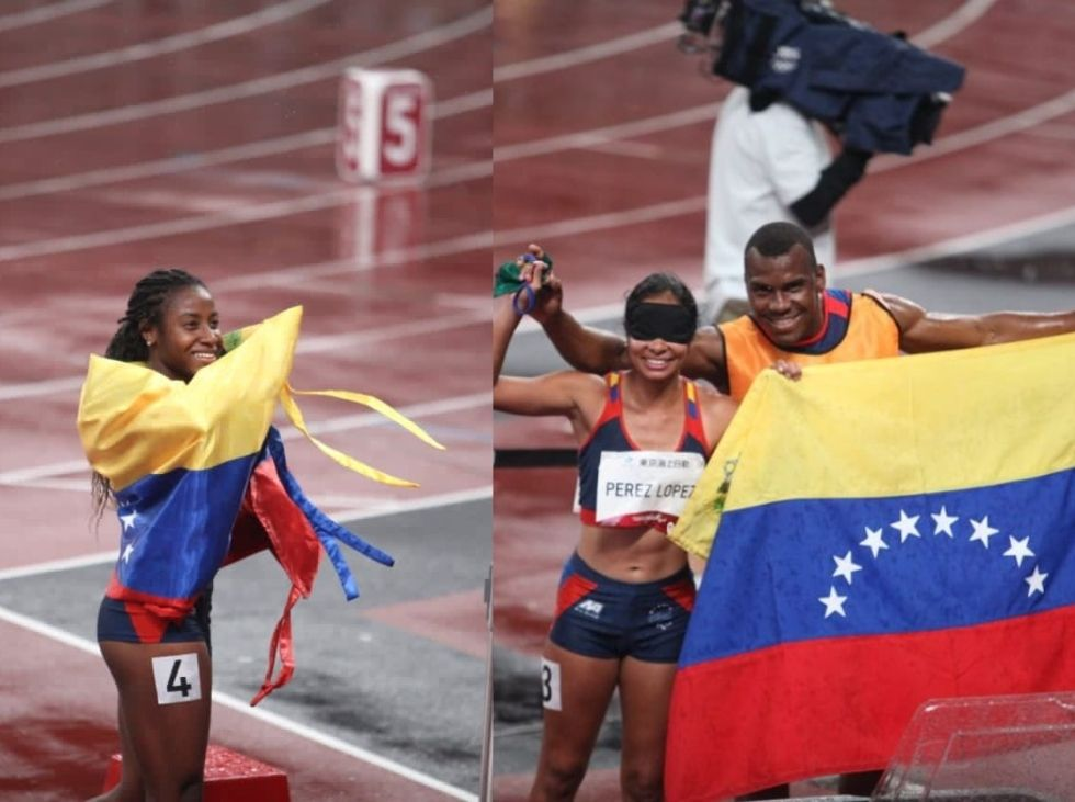 Medallas de Oro para Venezuela - agosto 31, 2021 1:40 pm - NOTIGUARO - Deporte