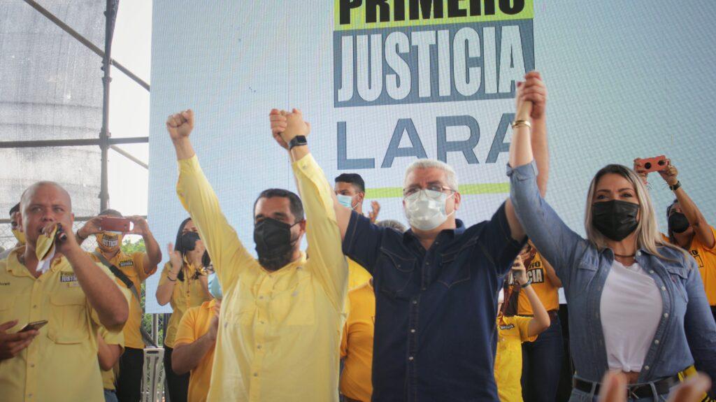Marquina va por la gobernación de Lara: Anunció que se postulará para las elecciones del #21N - agosto 9, 2021 9:30 am - NOTIGUARO - Locales