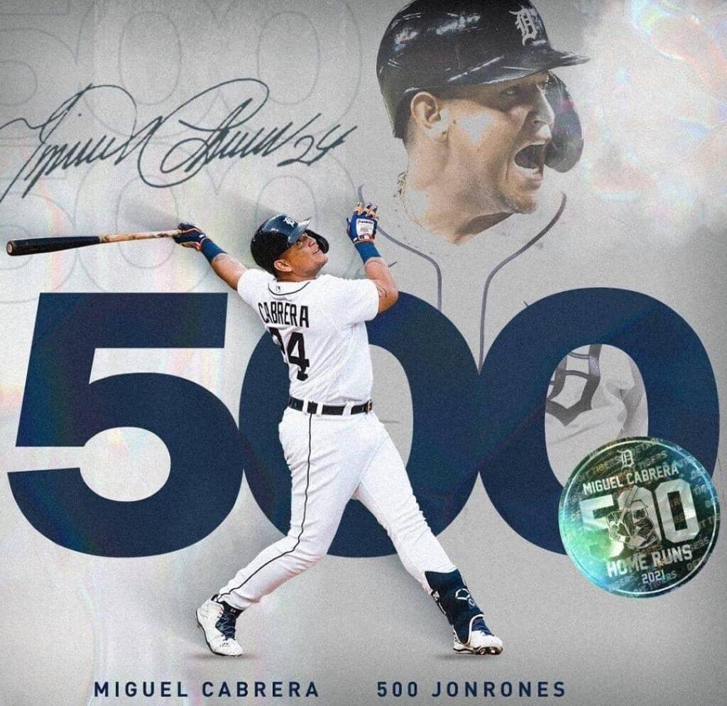 ¡Lo Logró! Miguel Cabrera anotó su ansiado jonrón N° 500 - agosto 22, 2021 4:17 pm - NOTIGUARO - Deporte