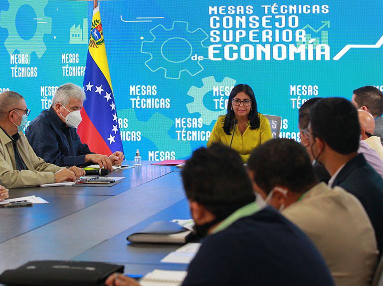 Delcy Rodríguez: No serán exonerados 597 productos que limitan la producción nacional - agosto 6, 2021 3:36 pm - NOTIGUARO - Economia