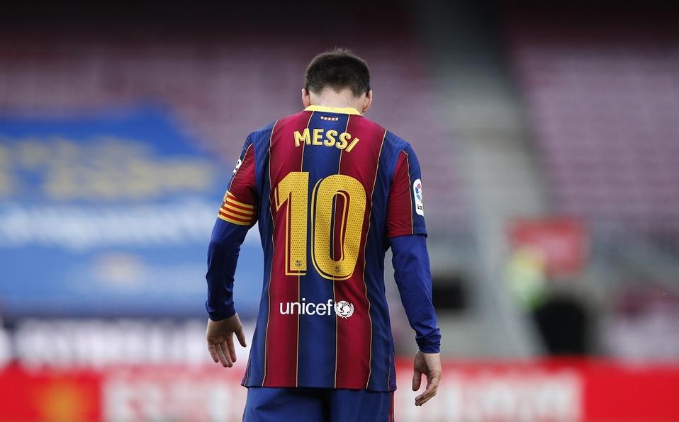 """Por """"obstáculos económicos y estructurales"""" Messi sale del Barcelona - agosto 5, 2021 4:04 pm - NOTIGUARO - Deporte"""