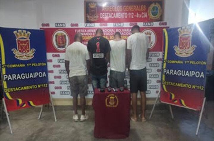 En Zulia: 4 dominicanos arrestados por presunto contrabando de combustible - agosto 24, 2021 5:05 pm - NOTIGUARO - Gasolina
