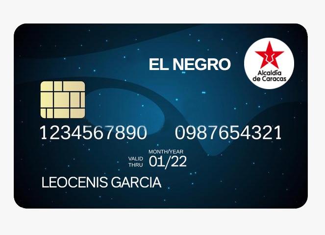 """En Caracas: Leocenis García lanzó tarjeta de ayuda """"El Negro"""" para 500 mil familias - agosto 12, 2021 6:46 am - NOTIGUARO - Nacionales"""