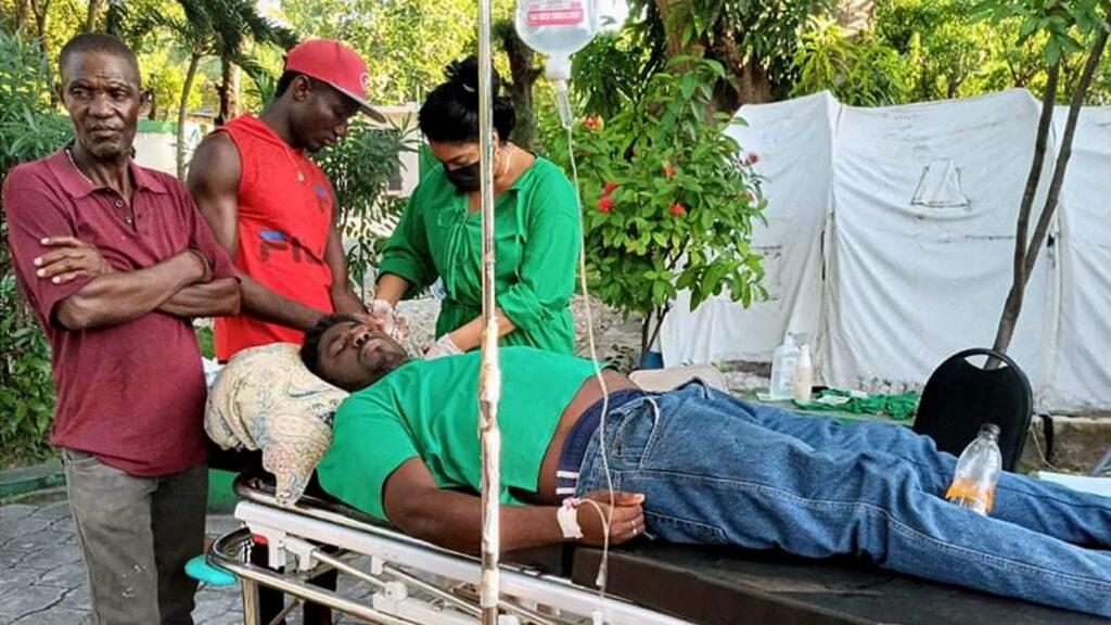 Tragedia: Sube a 724 cifra de personas fallecidas por terremoto en Haití - agosto 15, 2021 1:50 pm - NOTIGUARO - Internacionales