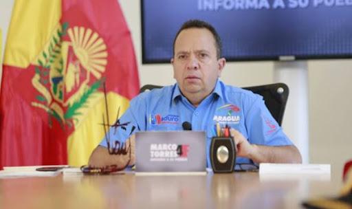 Renunció Rodolfo Marco Torres, gobernador del estado Aragua - agosto 28, 2021 11:31 am - NOTIGUARO - Nacionales