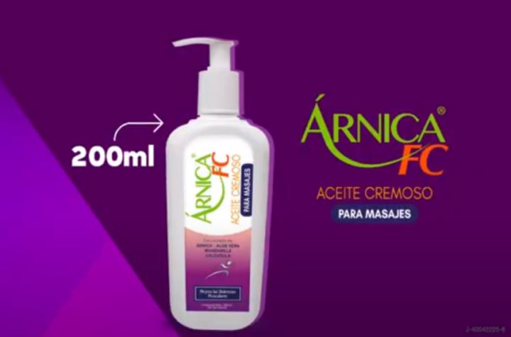 """Lanzan al mercado un nuevo producto de uso terapéutico: """"Aceite Cremoso Árnica FC """" - septiembre 1, 2021 4:00 pm - NOTIGUARO - INTERÉS SALUDABLE"""