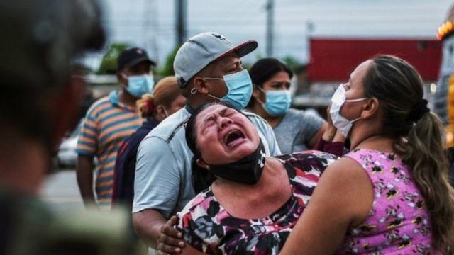 Tras muerte de 116 presos y 80 heridos: Presidente de Ecuador decretó el estado de excepción del sistema carcelario - septiembre 30, 2021 10:18 pm - NOTIGUARO - Internacionales