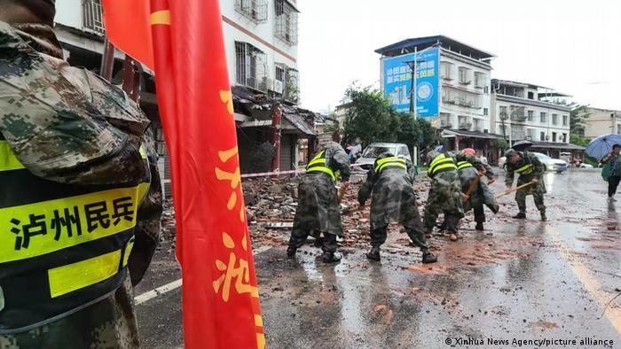 China: Terremoto de magnitud 6.0 dejó 3 fallecidos y 60 heridos en provincia de Sichuan - septiembre 16, 2021 7:31 pm - NOTIGUARO - Internacionales