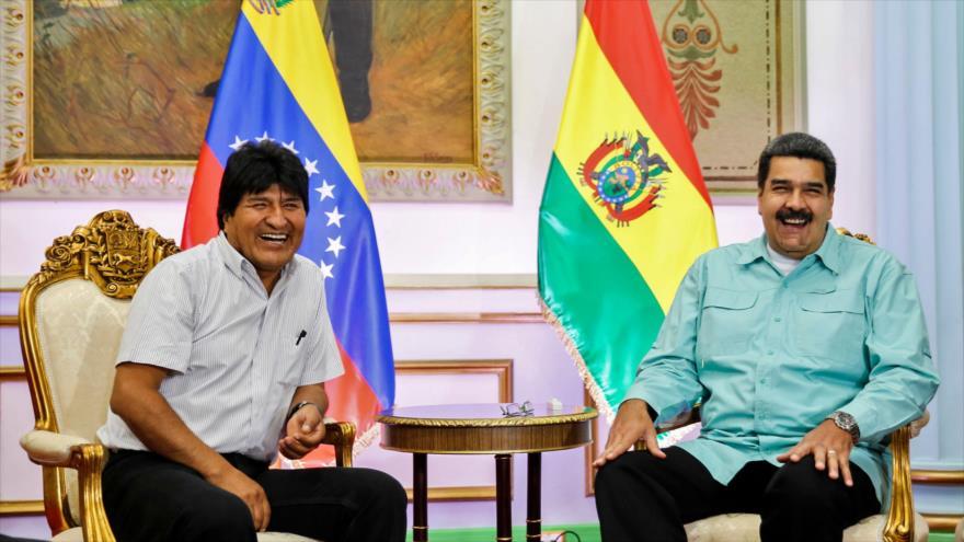 Evo Morales se reunió con Maduro en Caracas tras visitar a Díaz-Canel en Cuba - septiembre 11, 2021 9:30 am - NOTIGUARO - Nacionales