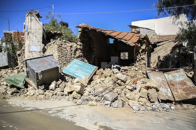 Grecia: Un muerto por terremoto de magnitud 5.8 en isla de Creta - septiembre 27, 2021 10:20 am - NOTIGUARO - Internacionales