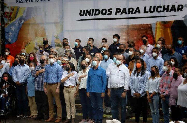 Guaidó: Vamos a levantar a este país exigiendo condiciones electorales justas - septiembre 29, 2021 6:35 pm - NOTIGUARO - Juan Guaidó