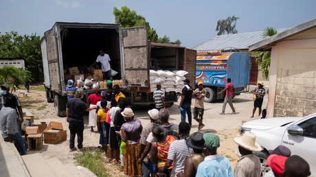 Haití: Casi un millón de personas se enfrentan al hambre en zonas afectadas por el terremoto de 7.2 - septiembre 10, 2021 7:30 am - NOTIGUARO - Internacionales
