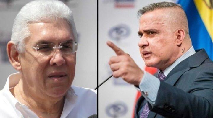 MP abre investigación penal contra el gobernador de Anzoátegui Antonio Barreto - septiembre 5, 2021 8:52 pm - NOTIGUARO - Tarek William Saab.