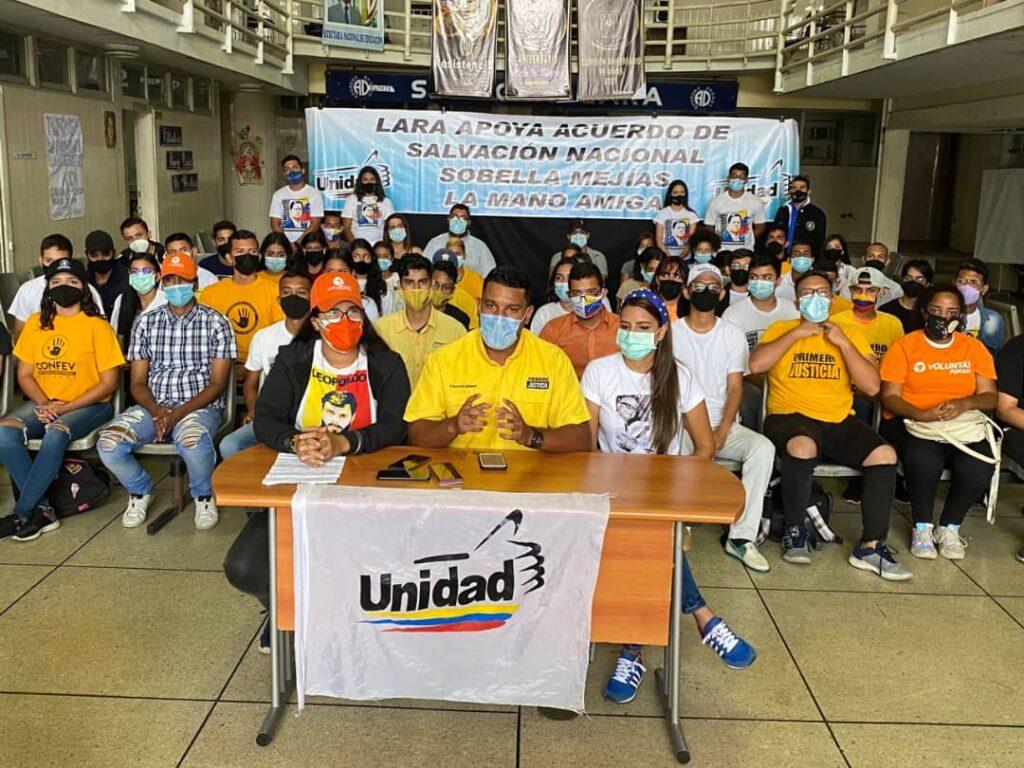 En Lara: AD, PJ Y VP respaldan candidaturas de Sobella Mejías y Alfonso Marquina - septiembre 11, 2021 4:39 pm - NOTIGUARO - Locales
