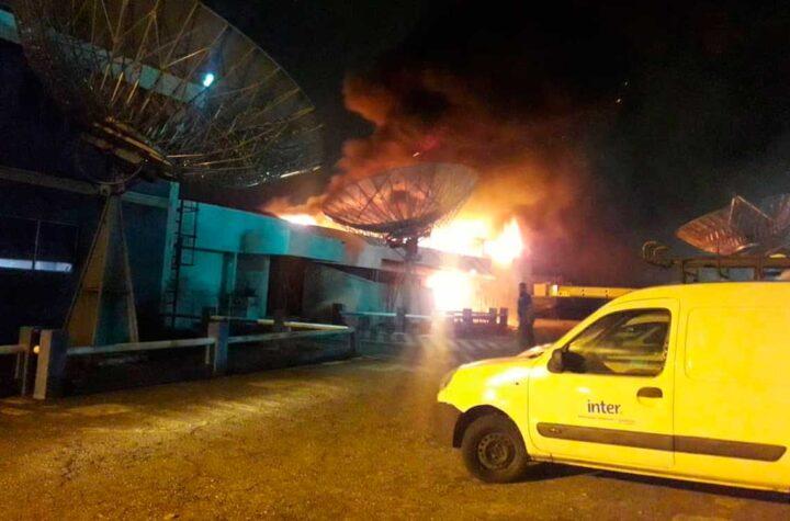 Voraz incendio consume instalaciones de Inter en Cabudare - septiembre 20, 2021 10:11 am - NOTIGUARO - Locales