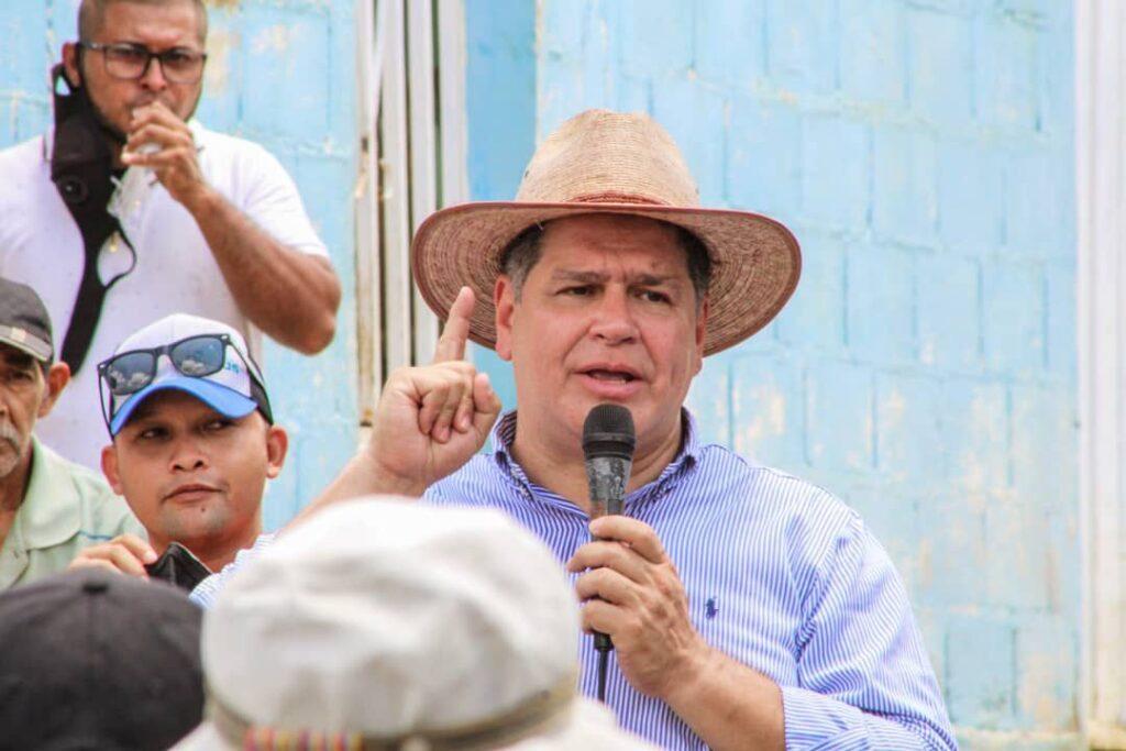 Luis Florido promete impulsar la producción agrícola en el estado Lara - septiembre 21, 2021 10:33 am - NOTIGUARO - Locales