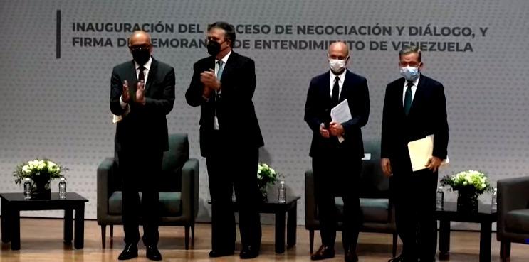 México: Mesa de diálogo entre Gobierno y oposición iniciará tercera fase - septiembre 23, 2021 8:12 pm - NOTIGUARO - Nacionales