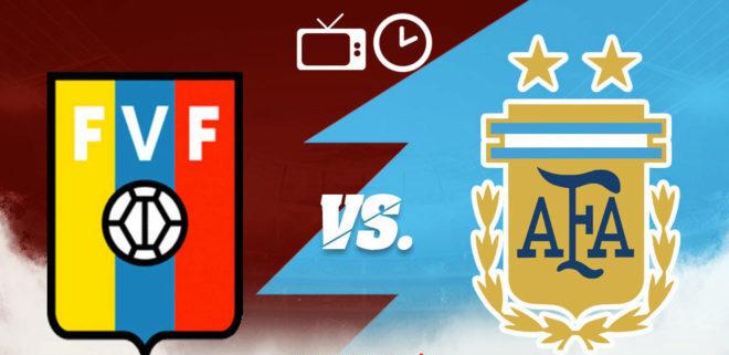 Venezuela vs Argentina: Conozca el horario de la transmisión en vivo por TV, de cara a las eliminatorias para Mundial de Catar2022 - septiembre 2, 2021 3:35 pm - NOTIGUARO - Deporte