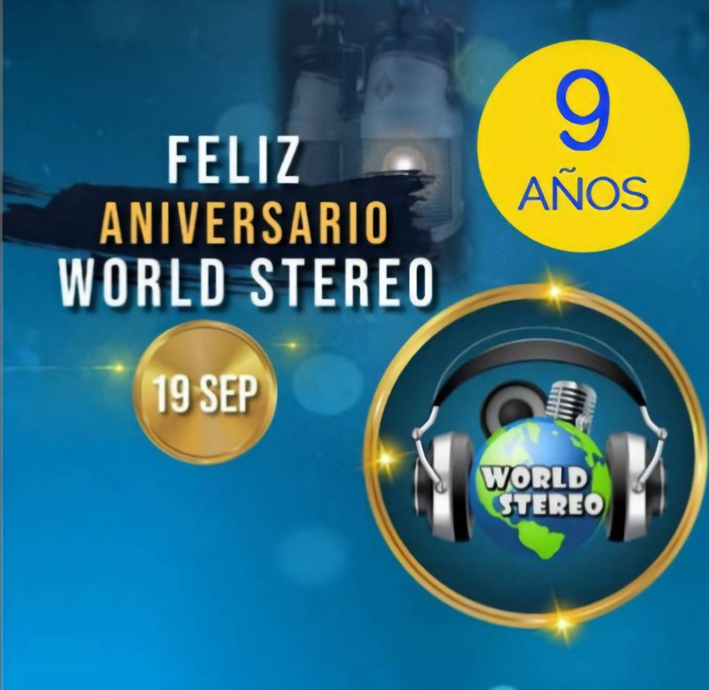 World Stereo arribó a su Noveno Aniversario, compartiendo la mejor información - septiembre 23, 2021 3:33 am - NOTIGUARO - Entretenimiento