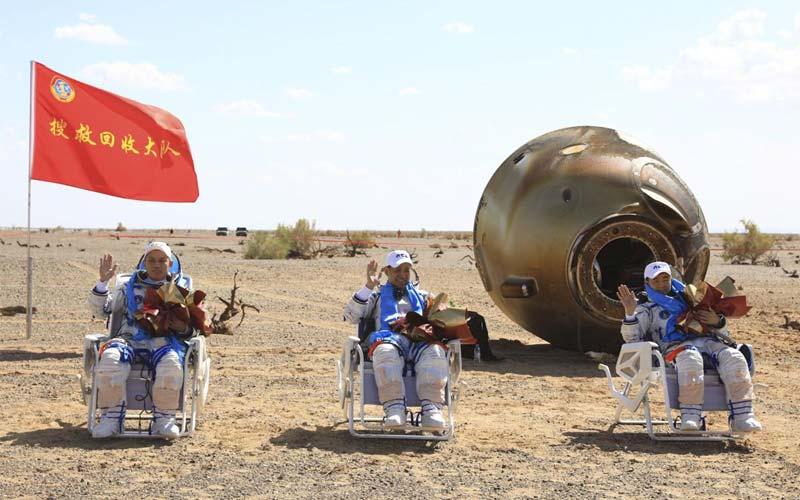¡Regresaron a la tierra! Astronautas chinos aterrizaron en la nave Shenzhou-12 - septiembre 17, 2021 3:32 pm - NOTIGUARO - Internacionales