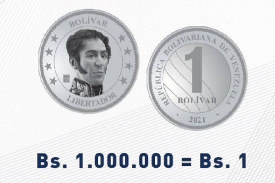 6 meses de vida útil: Economista señala que moneda de Bs.1 y billetes de baja denominación del nuevo cono, no serán útiles - septiembre 4, 2021 8:20 am - NOTIGUARO - Economia