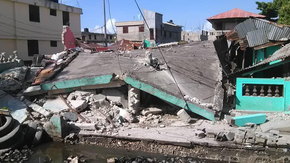 En Haití: Aumenta a 2.246 cifra de muertos por el reciente terremoto de magnitud 7.2 - septiembre 6, 2021 7:21 pm - NOTIGUARO - Internacionales