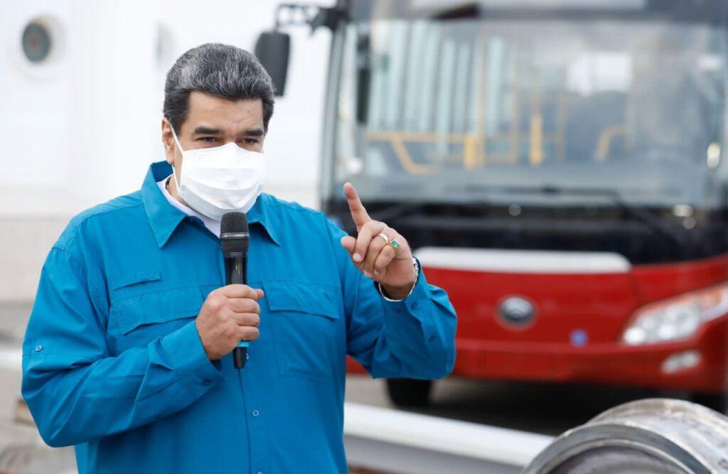 Maduro aprobó recursos para culminar obras ferroviarias - septiembre 29, 2021 10:41 am - NOTIGUARO - Nacionales