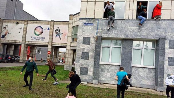 Tragedia en Rusia: Estudiante asesinó a ocho personas en una universidad - septiembre 20, 2021 11:39 am - NOTIGUARO - Internacionales