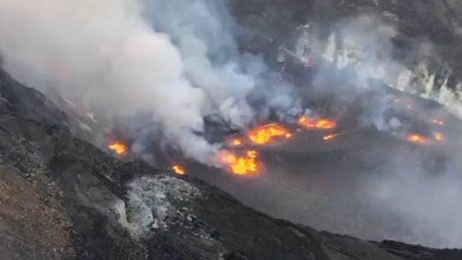 En Hawái: Activan alerta roja tras erupción de volcán Kilauea - septiembre 30, 2021 11:23 am - NOTIGUARO - Internacionales