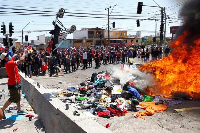 Chile: Tres detenidos por ataque a migrantes venezolanos - octubre 19, 2021 1:39 pm - NOTIGUARO - Internacionales