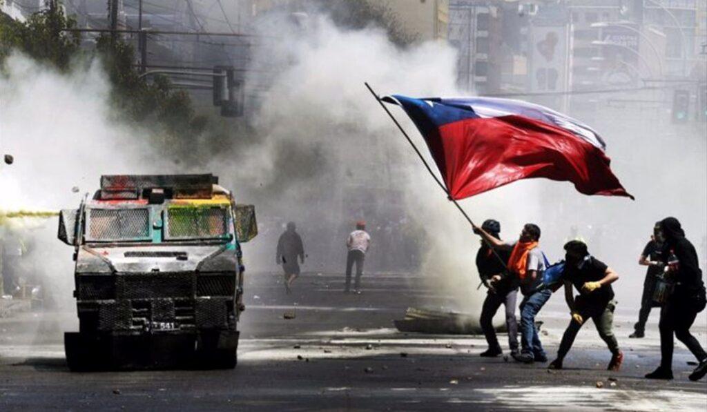 Chile: Al menos 2 muertos y 450 detenidos tras protestas violentas y saqueos - octubre 19, 2021 4:30 pm - NOTIGUARO - Internacionales