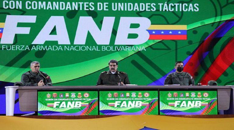 "Maduro: Ejercicios Militares ""Escudo Bolivariano"" se realizarán durante 2da. quincena de octubre - octubre 16, 2021 9:12 pm - NOTIGUARO - Nacionales"